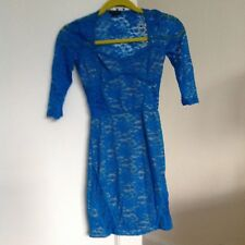 New River Island Lace Dress, Size UK 6 Petite