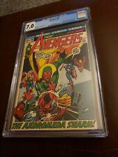 Avengers #96 CGC 7.0 WP Marvel 1972 Neal Adams Capt Marvel Kree War Movie On Way