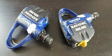 LOOK TEAM KELME blue classic vintage cleat pedals pedal road bicycle USED