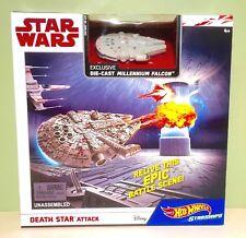 Star Wars Death Star Attack Hot Wheels Starships Playset
