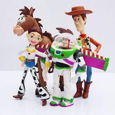 NEW 4PCS/ set Toy Story Buzz Lightyear Woody Jessie PVC Action Figure Toy Doll