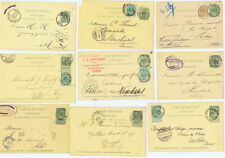 Posten- & Lots-Briefmarken aus Belgien