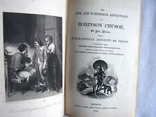 The Life And Surprising Adventures Of Robinson Crusoe, Of York, Mariner - 1859