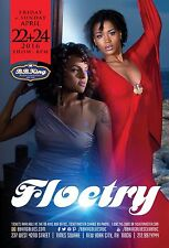 Floetry 2016 New York Concert Tour Poster-R&B,Neo Soul,Quiet Storm,Hip Hop Music