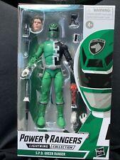 Power Rangers Lightning Collection SPD Green Ranger Action Figure Hasbro 2021