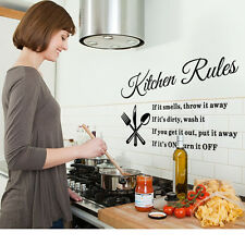 New Removable Wall Stickers Kitchen Tips Decal Home Accessories Vinyl Home Decor