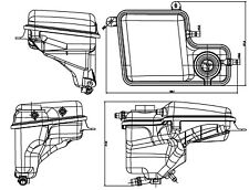 Engine Coolant Recovery Tank-FI Front Behr Hella Service 376789711