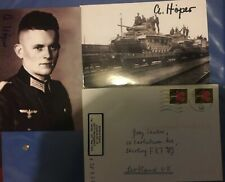 Ahrend Hoper Rkt Signed Fotos & Envelope