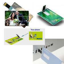 100 custom Printed business card 2GB 2.0 usb flash drive memory stick pen drive
