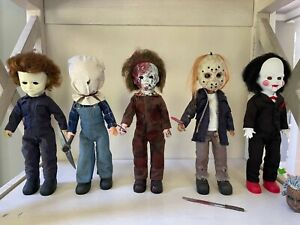 LDD Living Dead Dolls Lot Jason Voorhees Michael Myers Saw Friday the ¡13th