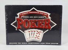 Poker & Dice Games Texas Hold'em - A Robert Frederick Gift Set