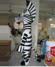 Halloween Cartoon  Zebra Mascot Costume Cosplay Party Game Adults Size