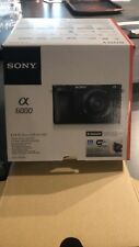 Sony a6000 camera with lens - Excellent Condition