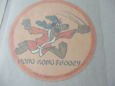 T Shirt Transfers Vintage Lot Cartoon Hong Kong Phooey Hanna Barbera Funny
