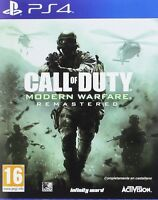CALL OF DUTY MODERN WARFARE REMASTERED PS4 EN CASTELLANO ESPAÑOL NUEVO PRECINTAD