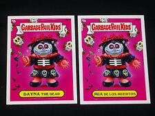 GARBAGE PAIL KIDS 2013 BNS 2 Bonus Cards B15a Dayna Dead B15b Mia de los Muertos