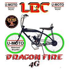 Complete Diy 2-Stroke 66cc/80cc Motorized Bike Kit With Gas Tank Bike!