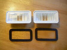 1968 1969 Impala Chevelle El Camino Front Marker Light Lens Clear Made in USA