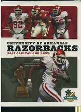 2007 Capitol Bowl Arkansas media guide McFadden MBX45