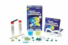 Color-Changing Crystals Thames & Kosmos Experiment Kit Ignition Series