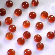 5x5 mm Round Natural Red Onyx Cabochon Loose Gemstone Wholesale Lot 20 pcs