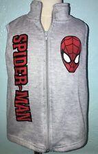 Marvel Spider-Man Vest Sweatshirt Superhero Gymboree 4T