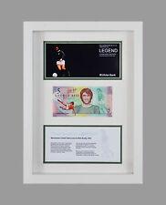 GEORGE BEST NORTHERN IRELAND FIVER £5 POUND BANKNOTE FIVER 3D BOX FRAME GIFT