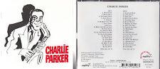 CHARLIE PARKER . COFFRET DOUBLE CD ANTHOLOGIE . ILLUSTRATION COUVERTURE DE CABU