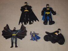 Lot of McDonald's 2011 Batman Figures Lot plus Other Figures