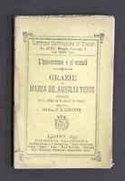 Lemoyne - L' invocammo e ci esaudì Grazie di Maria SS. Ausiliatrice 1^ ed. 1891