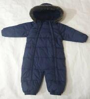 9-12 Months Snowsuit Boys blue john Lewis (G)