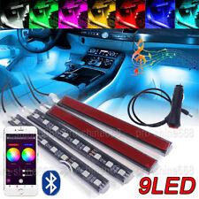 RGB APP Control LED Glow Interior Kit Under Dash Foot Floor Seat Accent Lights
