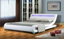 Faux Leather Contemporary Beds & Mattresses