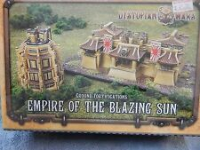Dystopian Wars by Spartan Games Ground Fortifications Empire of the Blazing sun