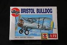 XL087 AIRFIX 1/72 maquette avion 01083 Bristol Bulldog 1991 NB