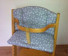 Reductor de asiento cojines de asiento estrellas para Stokke tripp Trapp babyset silla alta nuevo