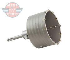Bohrkrone Dosenbohrer Lochbohrer Kernbohrer SDS Plus 120 mm mit Bohrer (SDS120)