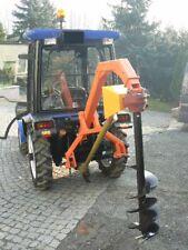 Erdbohrer HDG-L30 Pfahlbohrer Erdlochbohrer 30cm + Zapfwelle für Traktor 3-Punkt