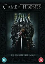 Game of Thrones : The Complete HBO Series 1 (5 Disc DVD Set) Season One