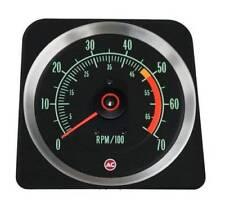 1969 Camaro 307, 327 & SS 350 (5000 Redline) 7000 RPM Tachometer, GM Licensed