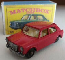 Matchbox lesney 64 M.G. 1100 1966 Custom /Crafted box