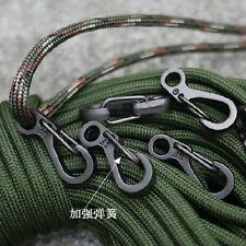 10*Crochets pour mousqueton Porte-clés en alliage Sports vacances Alpinisme