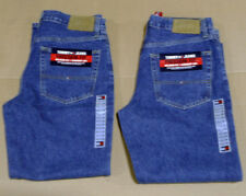 2 pairs NEW Mens TOMMY HILFIGER Denim RELAXED FIT Straight Leg JEANS 38 x 32