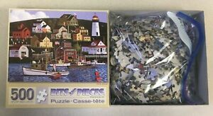 Owls Head, jigsaw puzzle based on the painting by Jack Allen, 500 pieces