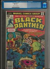 Black Panther vol.1 #1 CGC 9.4 OW/W Pages Kirby MCU