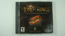 Lord of the Rings: The Fellowship of the Ring (PC, 2002) Windows