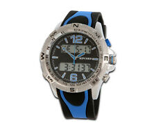 RIPCORD BY TRIAS Multifunctional Watch Model Series and001-blau Dual Time 24h