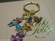 Key Ring Ring Charmer limited production Kirks Folly authentic Teddy Bear Time