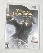 Pirates of the Carribean At World's End for Nintendo Wii Disney Video Game
