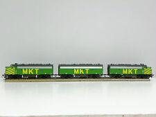 """ATHEARN - 2005/2010 HO R-T-R """"MKT"""" F7A/F7B/F7A (PWR/DMY/PWR) LOCOMOTIVE SET"""